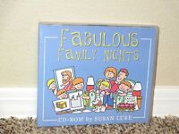 Fabulous Family Nights CD-Rom Clip Art Images LDS Mormon by Susan Luke