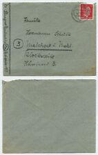 72464 - Beleg - Karlsruhe 6.2.1945 nach Malchow i. Meckl.