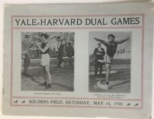 1910 Harvard vs Yale Dual Games Track And Field  Soldier Field Harvard