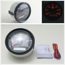 Car Truck Diesel Engine 85mm LCD Digital Tachometer Gauge 3000RPM with Hourmeter