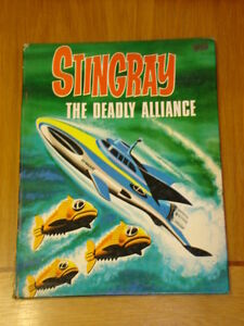 STINGRAY THE DEADLY ALLIANCE BRITISH ANNUAL