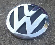 191853601J XZ1 Genuine VW tronco posterior Arranque Insignia Emblema Negro 1989-1992