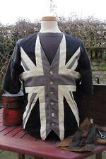 Monochrome Union Jack Waistcoat