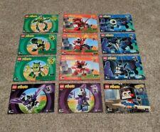 LEGO Mixels Instruction MANUALS - Lot of 12! MANUALS ONLY!!