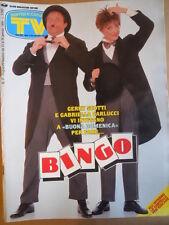 TV Sorrisi e Canzoni n°4 1994 Gabriella Carlucci Gerry Scotti Bryan Adams [D49]