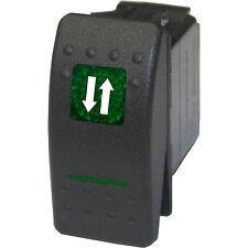 Rocker switch 508GM 12V ARROWS ONLY Momentary green