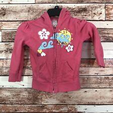 Old Navy Toddler Girls Size 4T Pink Full Zip Hooded Jacket