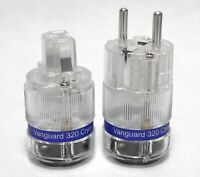 5.5mm 2.5mm DC Power Connector plugHI Vanguard Gold Plated DC Jack 5.5mm 2.1mm