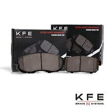 FRONT + REAR New Premium Ceramic Disc Brake Pad Set With Shims KFE815 KFE900