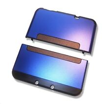 Nintendo *NEW* 3DS XL 3DSXL Blue Aluminium Metal Case Cover Shell Housing