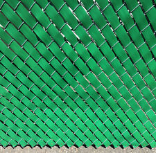 Privacy Fence Weave for Chain Link Fence - 250ft. Roll - EMERALD GREEN