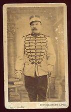 PHOTO CDV L.Bichon St-Germain-en-Laye- Militaire.Régiment de Hussards