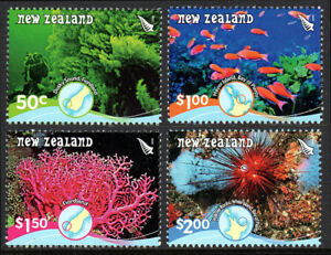 New Zealand 2162-2165, MNH. Marine life. Reefs, 2008