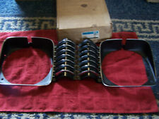 1969-1972 Chevy II Nova Headlight Bezel Pair Left Right NOS GM 3949789 3949790