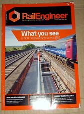 British Rail the Rail Engineer Magazine August 2015 issue 130