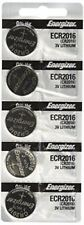 CR2016 Energizer Lithium Batteries (2 packs of 5)