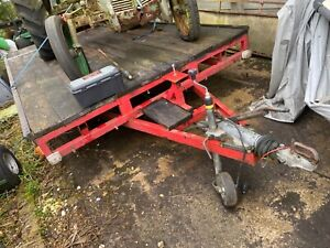 Beaver tail plant trailer 17ft by 7.3 ft