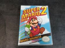Nintendo NES Super Mario 2 Game Case!