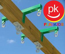 Swing Set Metal Glider Horse Blocks for Playset jungle Gym backyard Playground