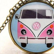 Vw Kombi Pink, Pendant Necklace, Volkswagen Combi, Split Screen, Hippie Bus Van