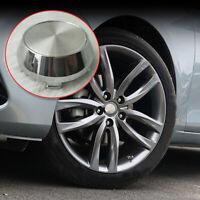4x 60mm (56mm) Wheel Hub Center Caps ABS Silver Decor Cap for Car Rims Hubcaps