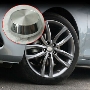 4x 60mm(56mm) Wheel Hub Center Caps ABS Silver for Car Rims Hubcaps Decor Cover