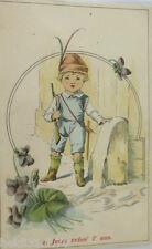 """""""Kinder, Robin Hut"""" 1900, Jetzt reiss ich aus ♥ (4698)"""