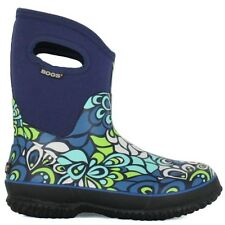 BOGS Women's Classic Mid Vintage Boots Sz 6 - Blue New!