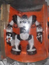 """Robosapien Robot With Cup And Controller, Approx 15"""" Tall"""