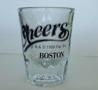 """Cheers Boston 3"""" Shot Glass"""