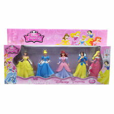 5 Disney Princess Toy Figurines Set- Birthday Cake Topper -Birthday Friends Play