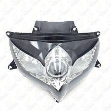 Black Headlight Head Light Lamp Assembly For SUZUKI GSXR 600 GSX-R 750 2008-2009