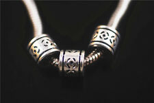20ps Nice Tibetan Silver Charms Spacer Beads Fits European Jewelry Beads 8x8.5mm