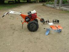 Motoculteur Dormak moteur 6 CH Honda 3 vitesses avec charrue et fraises