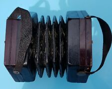 More details for english concertina with forty-eight buttons on pierced rosewood ends
