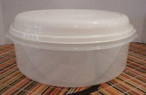 Vintage RUBBERMAID Servin' Saver #5  22 Cup Almond Lid Storage Container Bowl