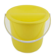 More details for packs of charity street collecting fundraising donation bucket - yellow