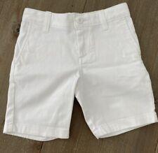 Dillard's Toddler Boys White Shorts Size 4T NWT