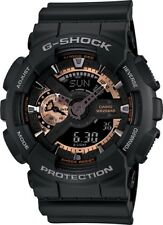 BRAND NEW CASIO G-SHOCK GA110RG-1A BLACK/ROSE GOLD ANA-DIGI MEN'S WATCH NWT!!!!