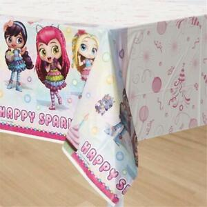 Little Charmers Plastic Table Cover Birthday Party Supplies 1 Per Package New