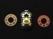 Power Rangers Super Samurai Black Box Morpher + 2 Discs & Belt Buckle