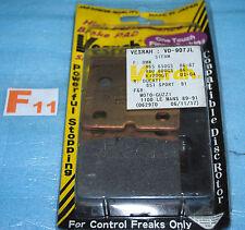 2 plaquettes de frein VESRAH BMW R 45 65 80 100 1100 K 75 100 1200 RS RT LT