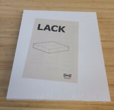 IKEA Lack Floating Wall Shelf White 30x26 cm 11 3/4 x 10 1/4 New In Package IKEA