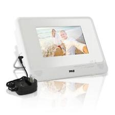 Pyle Waterproof 7'' Portable DVD Player, Built-in Rechargeable Battery, USB/SD