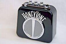 Honeytone N-10 Guitar Mini Amp w/Overdrive & Belt Clip, Black