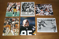 10 PITTSBURGH STEELERS DIFFERENT 8x10 PHOTOS - STEEL CURTAIN - LLOYD - STAUTNER