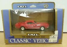 ERTL VINTAGE VEHICLES 1:43 #2804 1968 SHELBY GT-500 MUSTANG Gold Box Edition