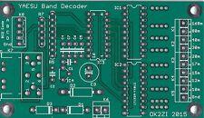 Automatic band decoder (YAESU,Microham MK2R, Elecraft K3) leiterplatte PCB