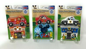 Melissa and Doug Mickey Mouse Clubhouse Fire Station Police Car - Lot of 3