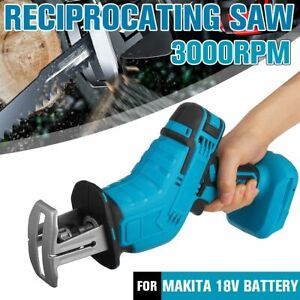 0-3000rpm/min Home DIY 18V Cordless Reciprocating Saw Replacement Customazied